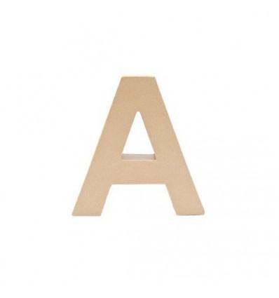 Letra A de Carton de 17,5 x 5,5 cm
