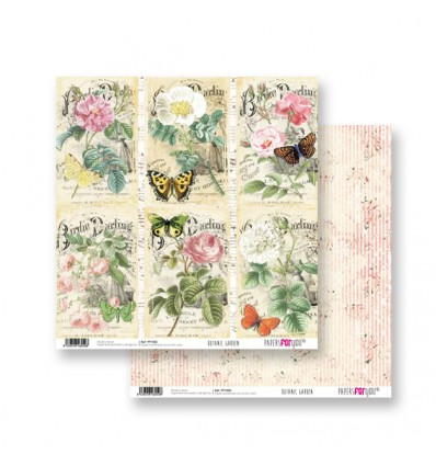 Papel Scrapbooking Botanic Garden PFY050 Papers for You