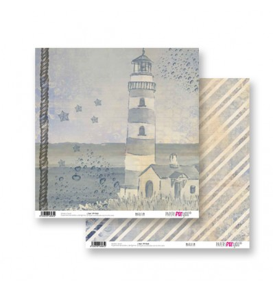 Papel Scrapbooking Maritim PFY065 Papers for You