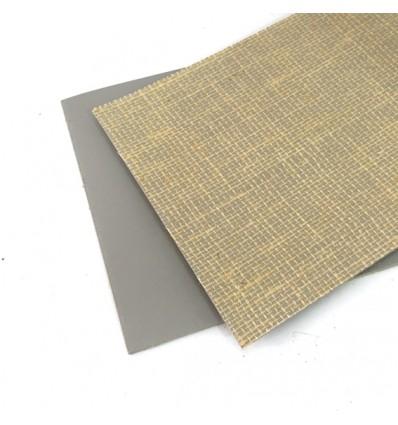 Plancha de linóleo 15,2x20,3 gris