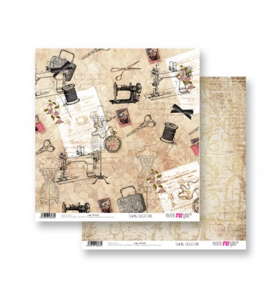 Papel Scrapbooking Sewing PFY078 Papers for You