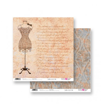 Papel Scrapbooking Sewing PFY076 Papers for You