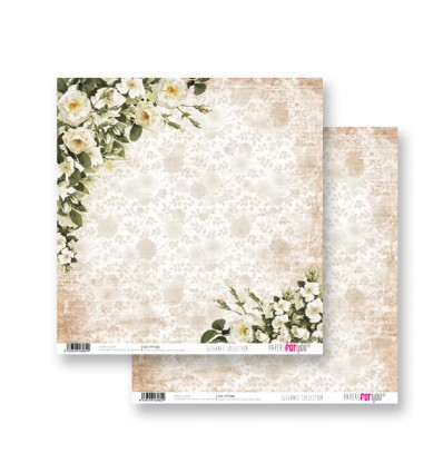 Papel Scrapbooking Elegance PFY082 Papers for You