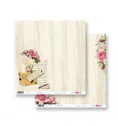 Papel Scrapbooking Elegance PFY085 Papers for You