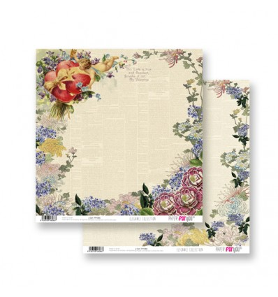 Papel Scrapbooking Elegance PFY086 Papers for You