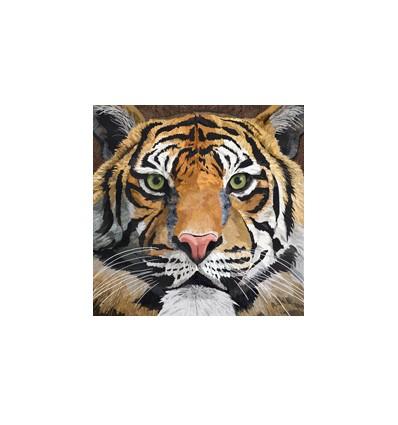 Servilleta Tigre Salvaje 33x33