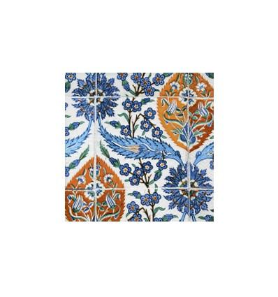 Servilleta Azulejos Asiaticos 33x33