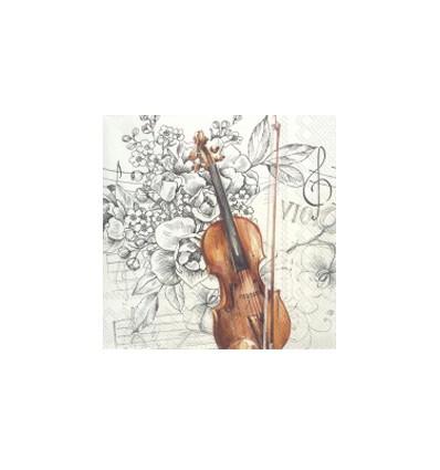 Servilleta Bella Musica 33x33