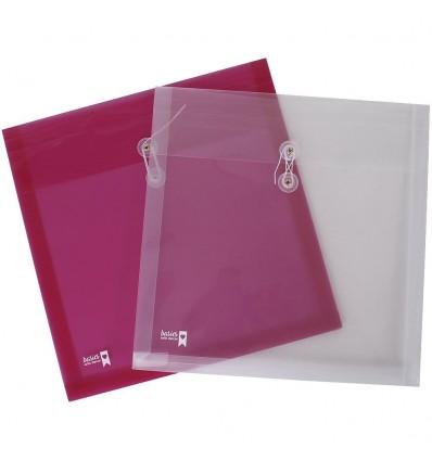 Carpeta Portapapeles 30x5x30x5 cm. Transparente