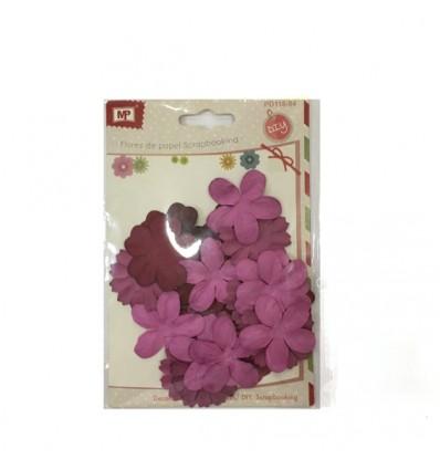 Flores de Papel Fucsia MP
