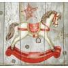 Servilleta Corona de Navidad Hill 33x33