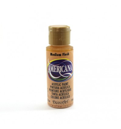 Pintura Acrilica Americana DecoArt DA 102, Medium Flesh.