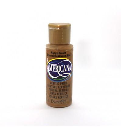 Pintura Acrilica Americana DecoArt DA 163, Crema Marrón.