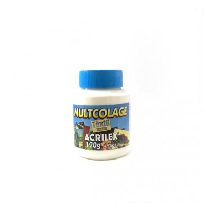 Cola Decoupage Tejido Multcolage Acrilex